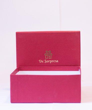 """Small Cranberry Box 8""""x8"""""""