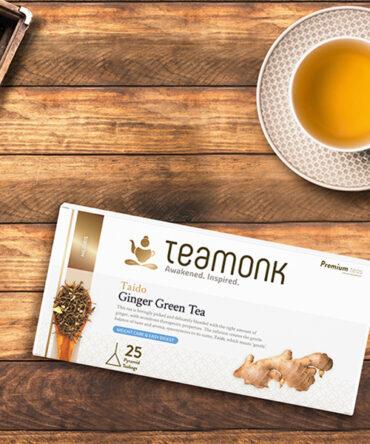 Teamonk - Nilgiri Green Tea - Taido Ginger