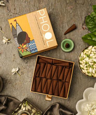 Phool Natural Incense Cones | Jasmine