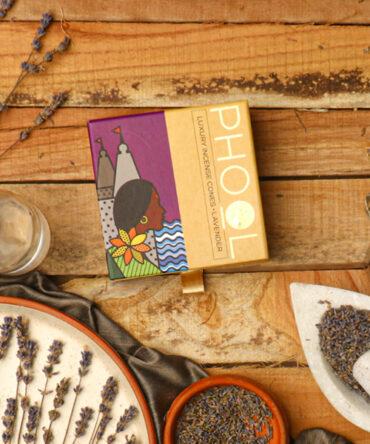 Phool Natural Incense Cones | Lavendar