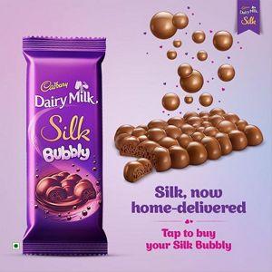 Cadbury Dairy Milk Silk | Bubbly