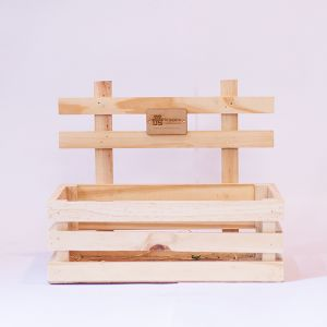 "Wooden Deep Crate(12""x9"")"